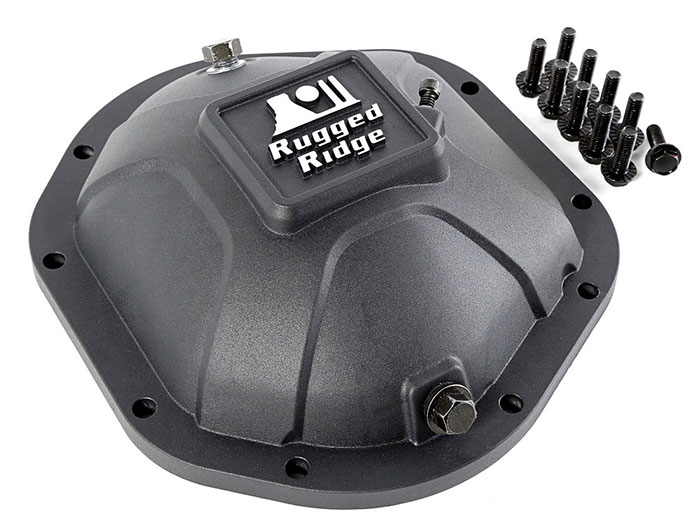 Rugged Ridge Boulder Aluminum Differential Covers