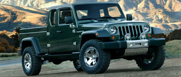 Jeep Gladiator Concept Vehicles