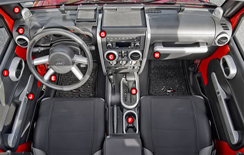 interior quality of jeep rubicon 2017 2018 best cars reviews