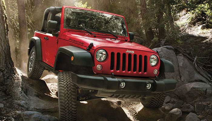 All New 2016 Jeep Wranglers