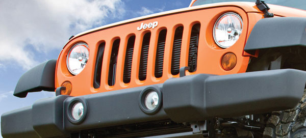 Jeep Wranglers JK Grille