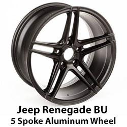 Jeep Renegade 5 Spoke Wheel
