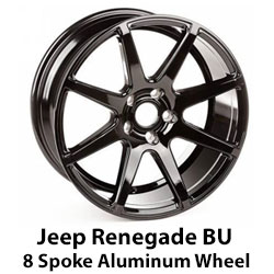 Jeep Renegade 8 Spoke Wheel