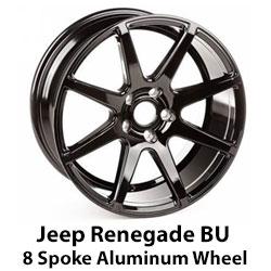 Jeep Renegade 8 Spoke Wheel