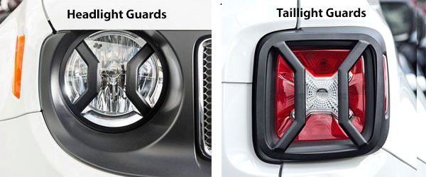 Jeep Renegade Light Guards
