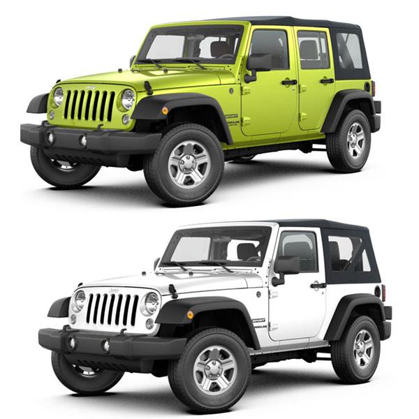 2007-17 Jeep Wranglers JK