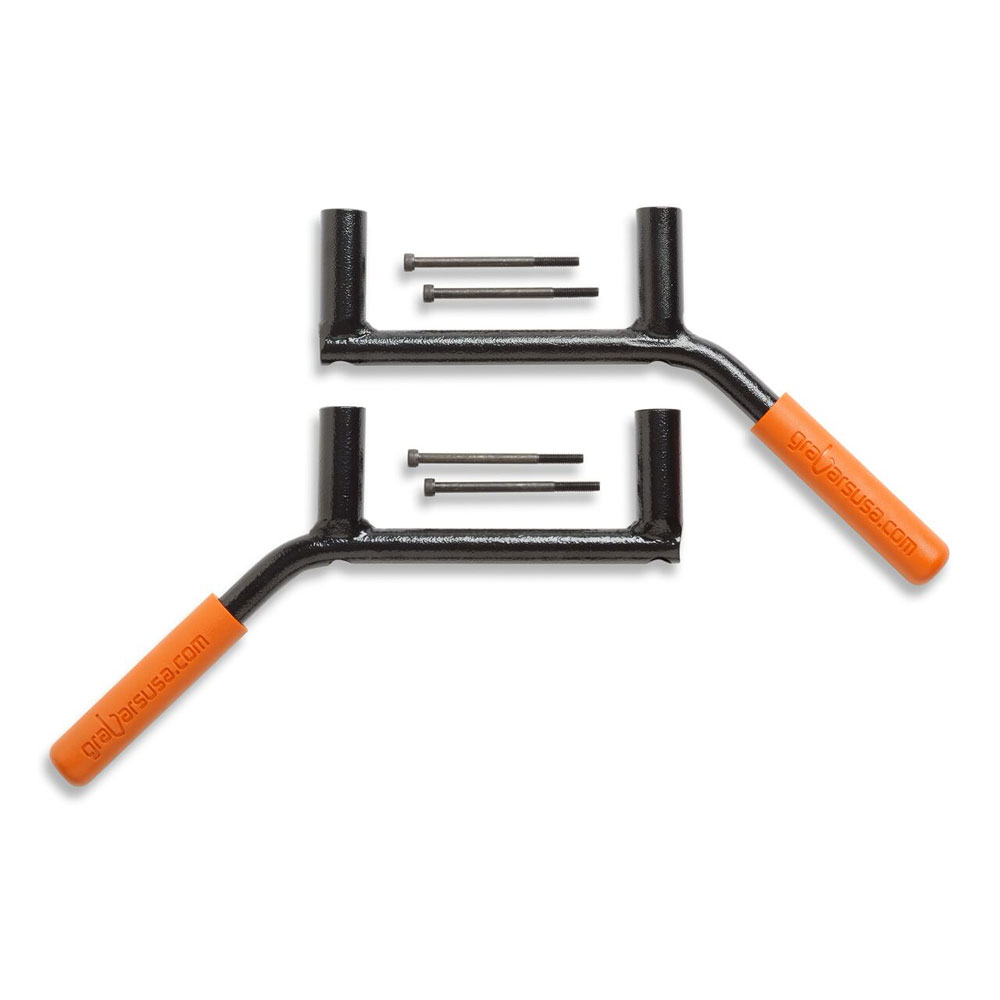 Rear GraBars, Orange, 07-16 Wranglers 2 Doors