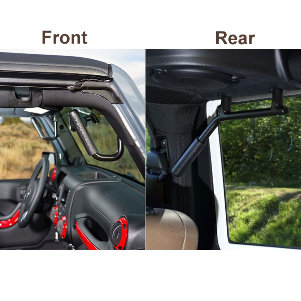 Front and Rear GraBars 07-18 Wranglers 2 Doors