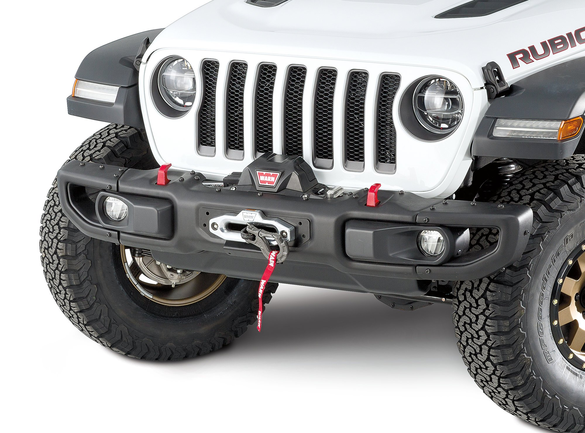 Jeep Wrangler JL Winch Mounting Plate