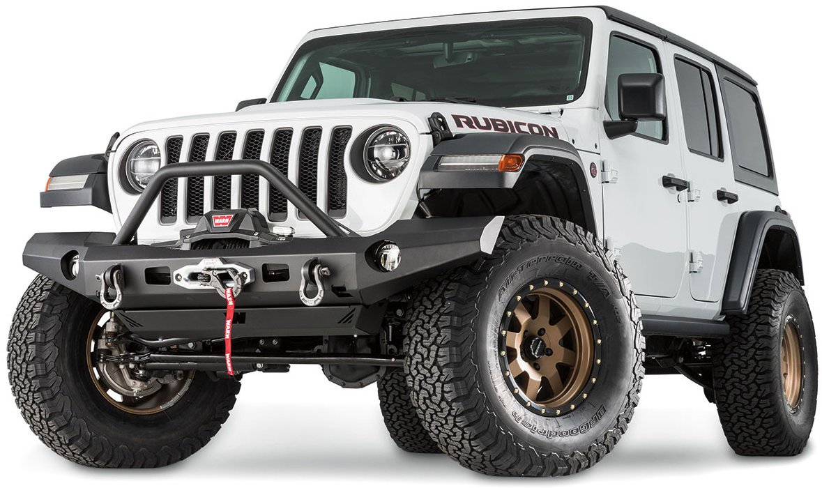 Jeep Wrangler JL Warn Full Width Front Bumper with Grille