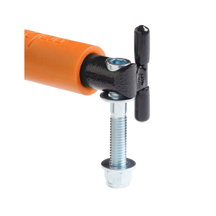 GraBar BootBars (Foot Pegs), Orange Grips, 87-06 Wranglers
