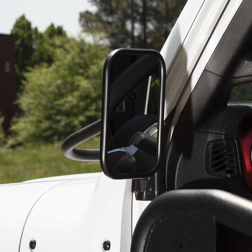 Jeep Wrangler JL Trail Mirror Pair, Rectangular
