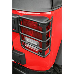 Euro Guard Rear Light Guards 07-18 Wranglers JK