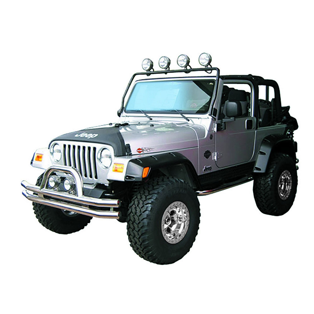 Full Frame Light Bar 97-06 Wranglers