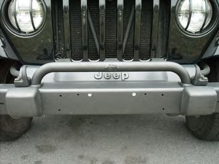 1123202 bumper mounted light bar 97 06 wrangler black wrangler light bar mozeypictures Image collections