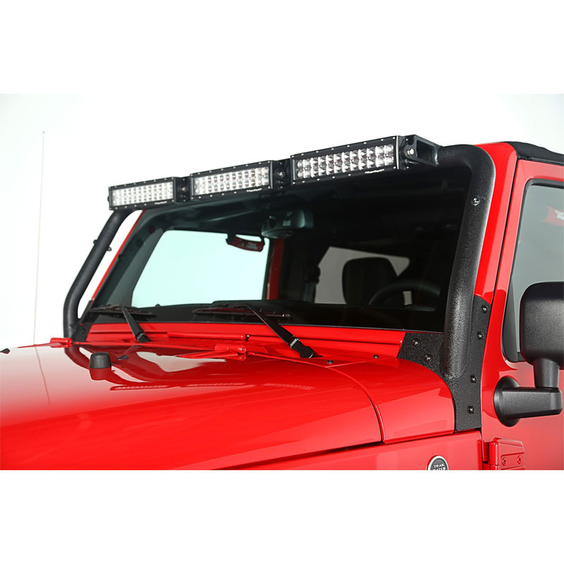 2007-17 Wrangler Windshield LED Light Bar