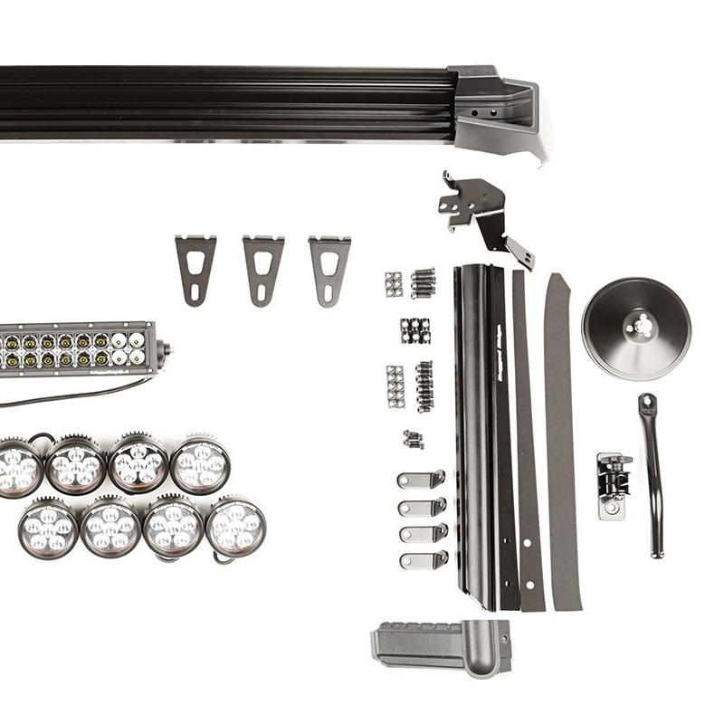 Jeep Jk Fasttrack Light Bar Kit 07 17 Wranglers 11232 55