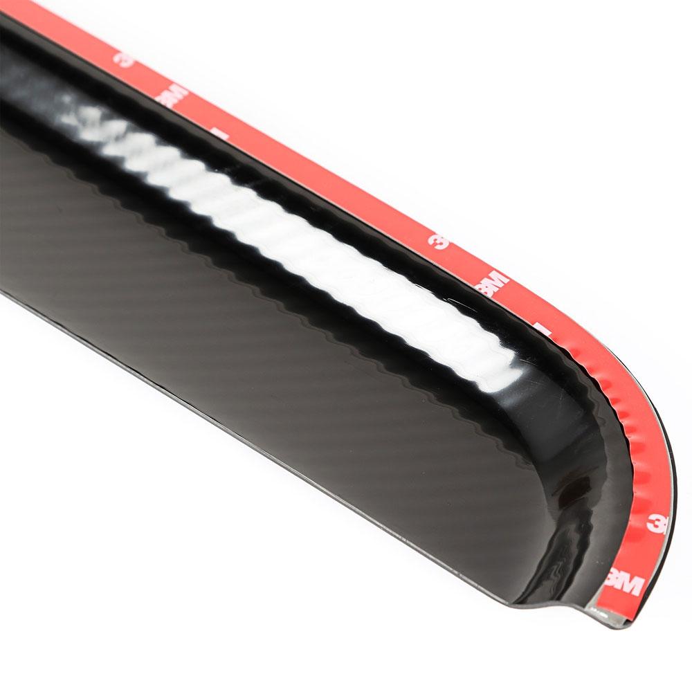 Rugged Ridge 11349 10 Window Visors Carbon Fiber Finish