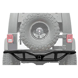 RRC Rear Bumper with Hitch 07-18 Wranglers