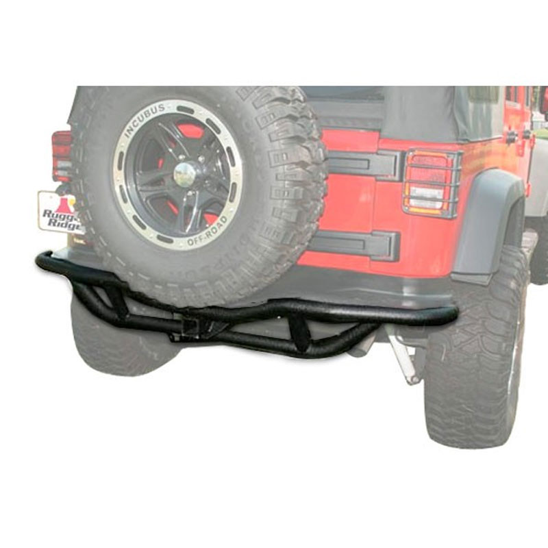 RRC Rear Bumper with Tire Carrier Provision 87-06 Wranglers