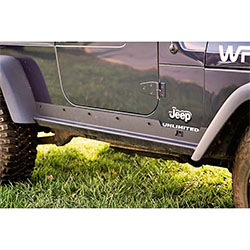 Heavy Duty Rocker Guards for Wrangler 97-06