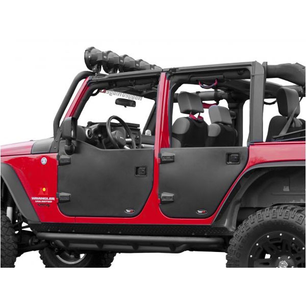 Half Door Rear Pair 07-17 Wranglers