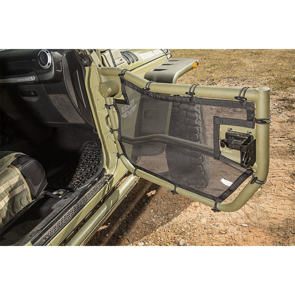 2007-2018 Wrangler JK Front Tube Door with Eclipse Covers
