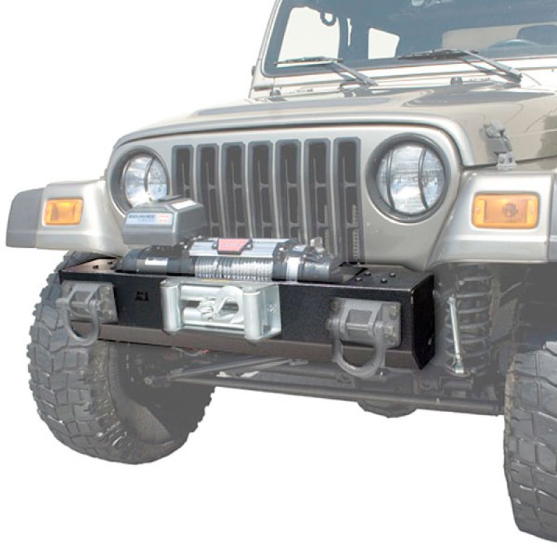 Front XHD Bumper Base Winch Mount 76-06 CJ Wrangler