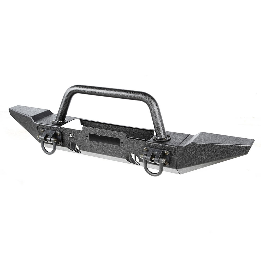 Winch Mount XHD Front Bumper with Bumper Ends and Hoop