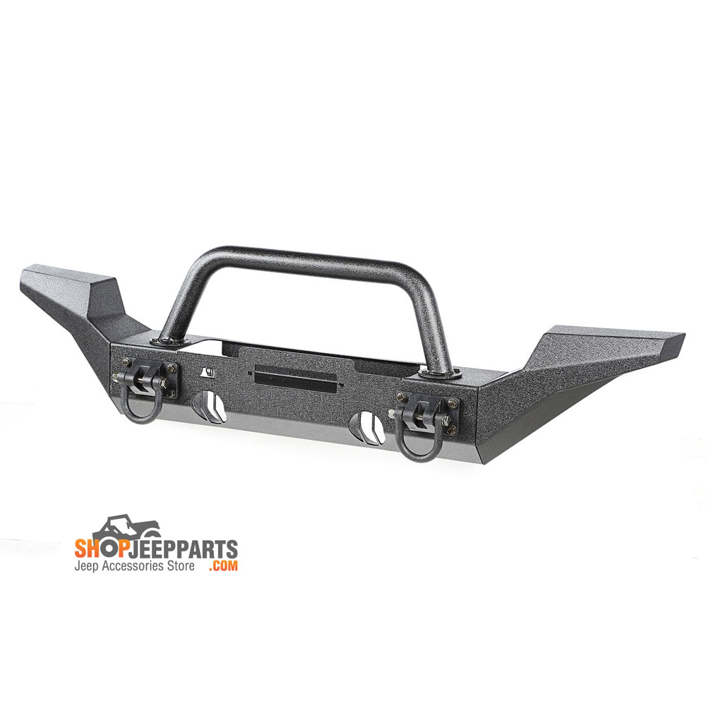 Front XHD Winch Bumper High Clearance Ends and Center Hoop