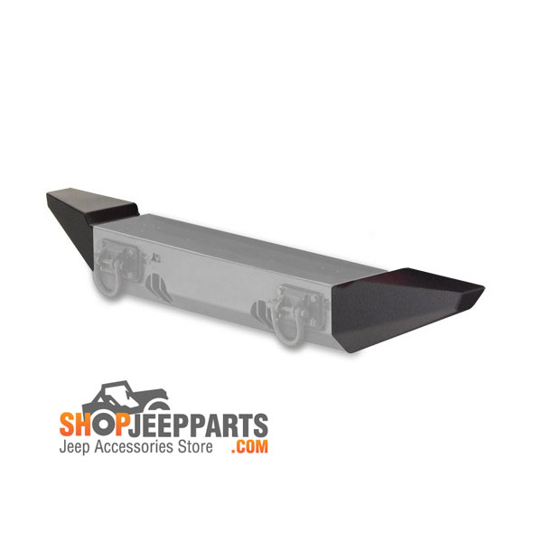 Front XHD Bumper Kit with Over Rider and Standard Ends, 76-06 Wranglers