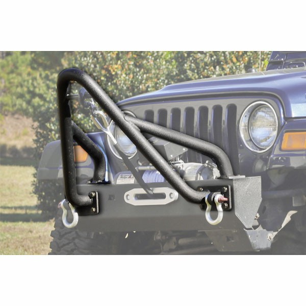 Front XHD Bumper Kit with Stinger and Standard Ends, 76-06 Wranglers