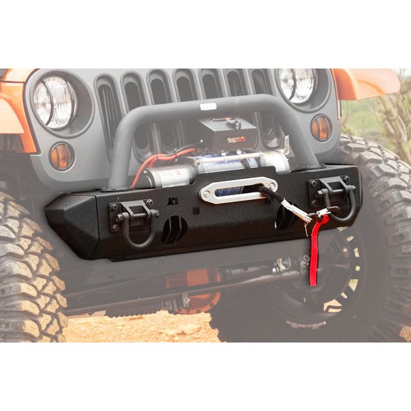 Front Winch Mount XHD Bumper Base 07-18 Wranglers