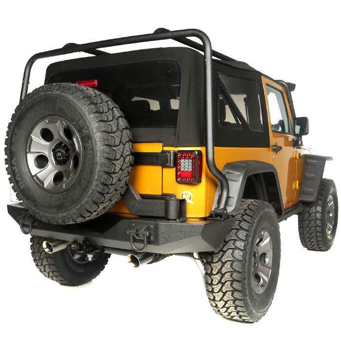 Gen II Swing & Lock XHD Tire Carrier, 07-17 Jeep Wrangler