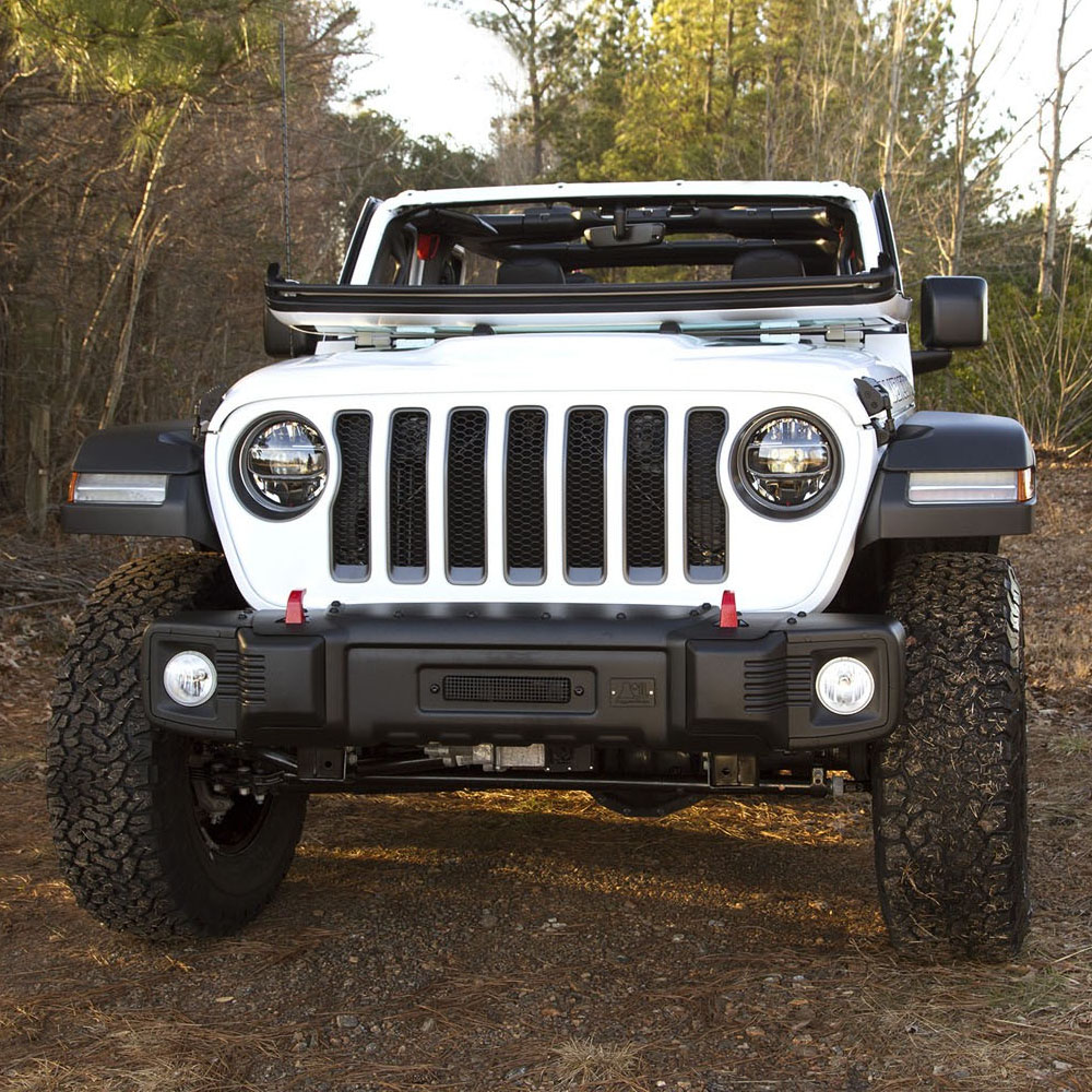 Jeep Wrangler Body Armor >> Jeep Wrangler JL Spartacus Front Bumper| Rugged Ridge 11544.21