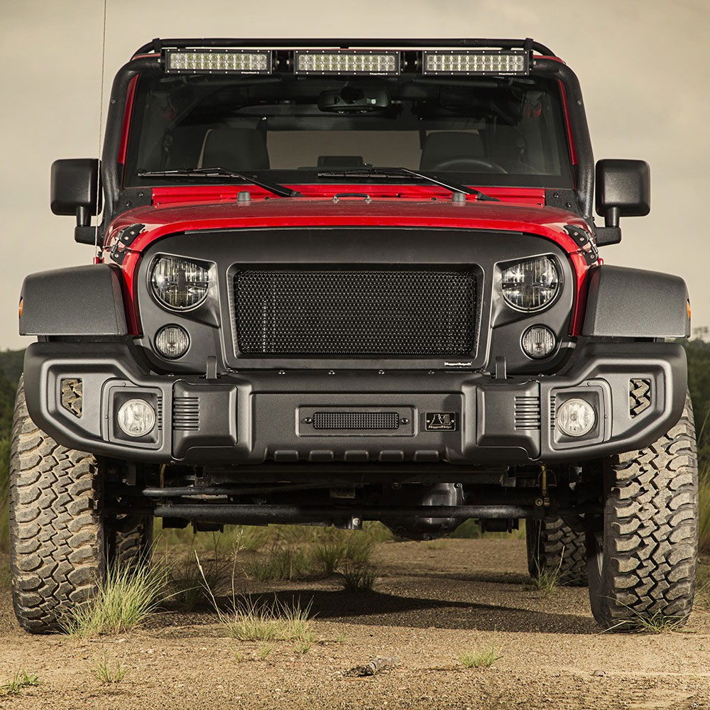 Rugged Ridge Jeep Bumpers >> Jeep Wrangler Spartacus Front and Rear Bumper Rugged Ridge 11544.60