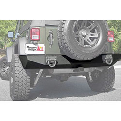 Heavy Duty XHD Rear Bumper 07-18 Wranglers