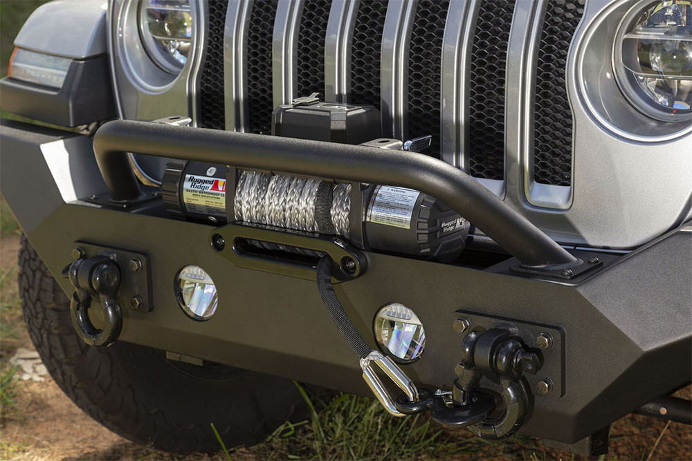 Jeep JL Wrangler Spartan Front Bumper High Ends and Tube