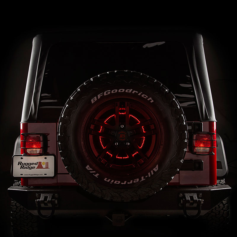 Jeep Brake Light LED Ring