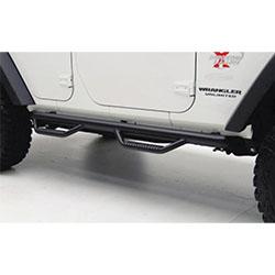2007-2018 Jeep Wrangler Spartan Nerf Bars, 4 Doors JK