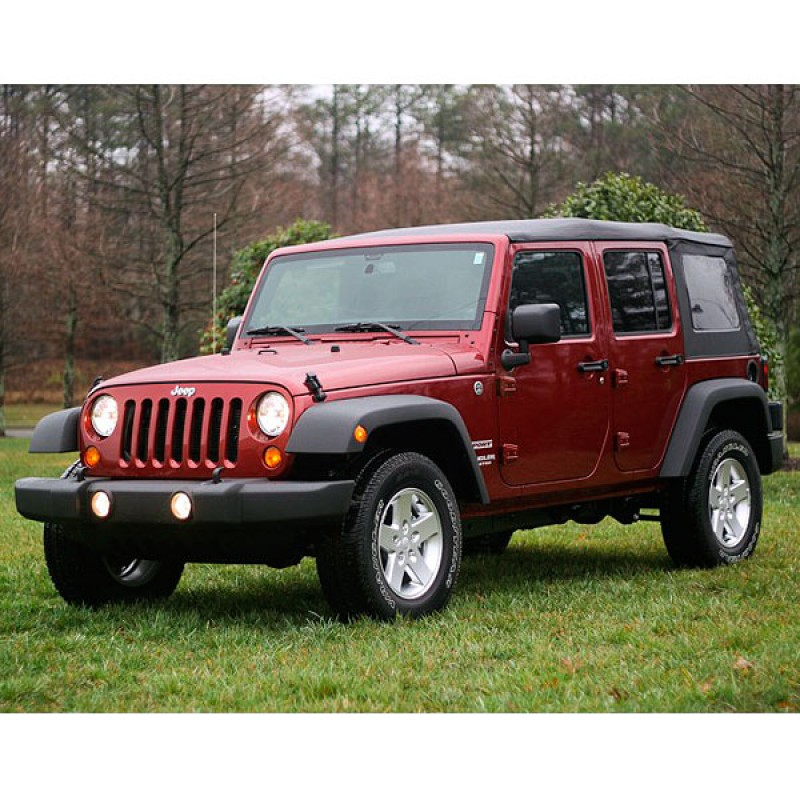 4 Piece Fender Flare Kit No Hardware 07-17 Wrangler