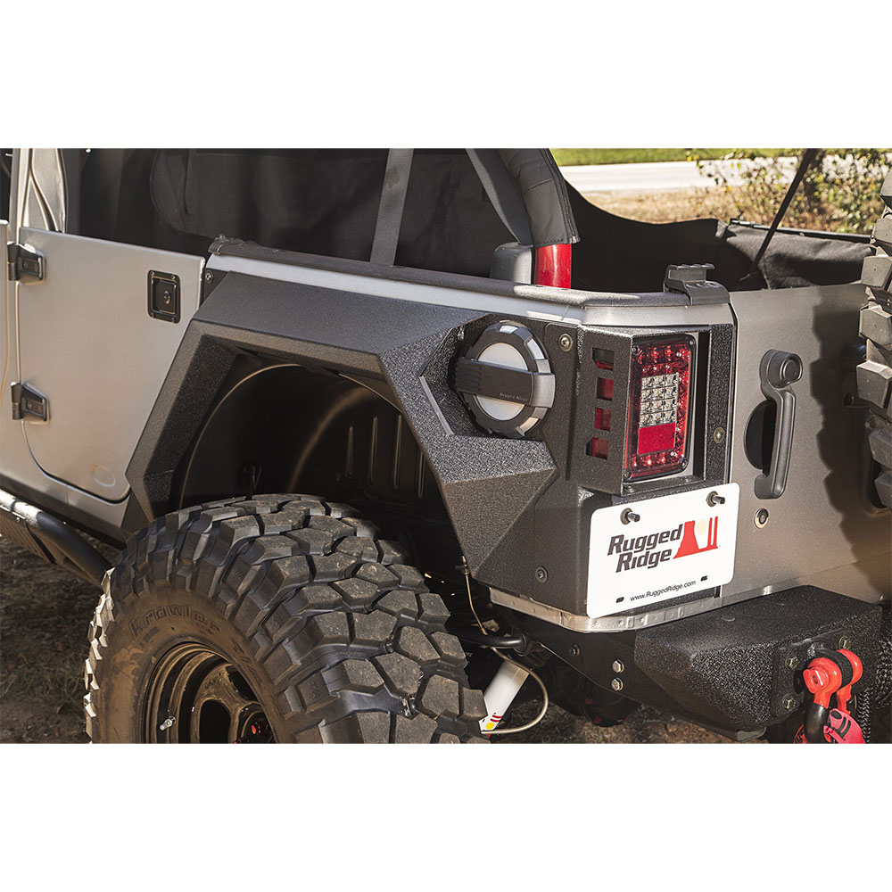 Armor Fenders and Liner Kit, 07-18 Wrangler JK 4 Doors