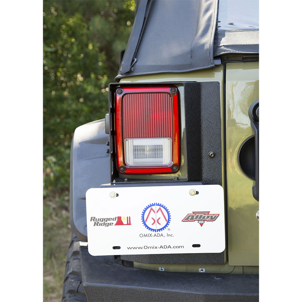 Jeep Corner Guards, 07-18 Wrangler JK 4 Door