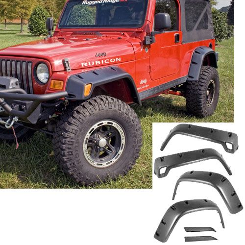 All Terrain Fender Flare Six Piece Wrangler 97-06