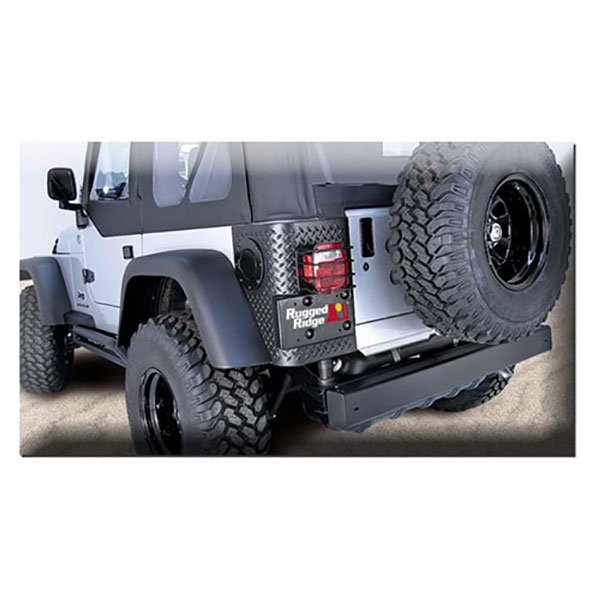 Diamond Textured Plastic 6 Piece Kit 97-06 Wranglers