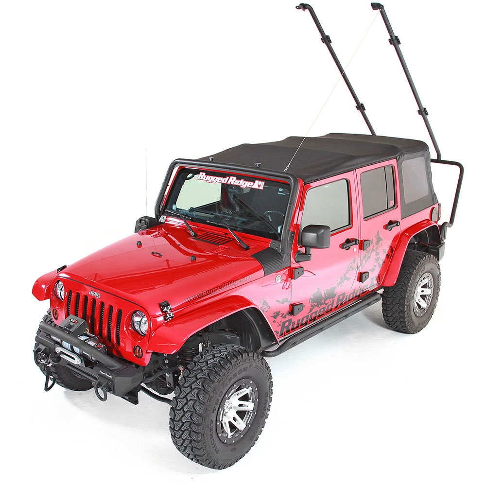 Rugged Ridge Sherpa Roof Rack 07-18 Wranglers 4 Doors
