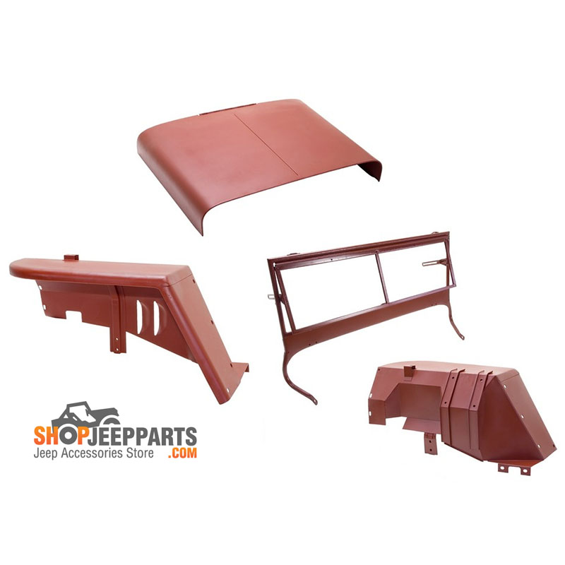 Body Tub Kit For 41-42 Willys Early MB