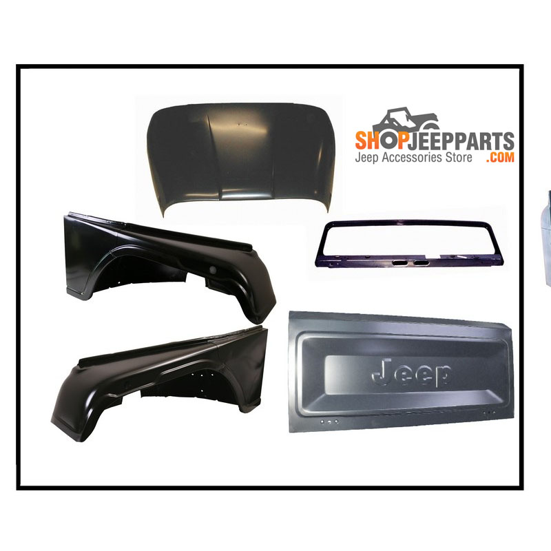 Complete Body Kit for Jeep CJ8 1981-86