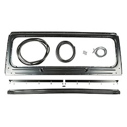 Windshield Frame Kit, 87-95 Wrangler YJ