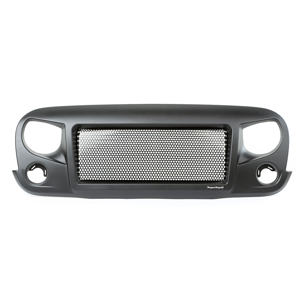 Spartan Grille with Teeth Grille Insert, 07-17 Wranglers JK